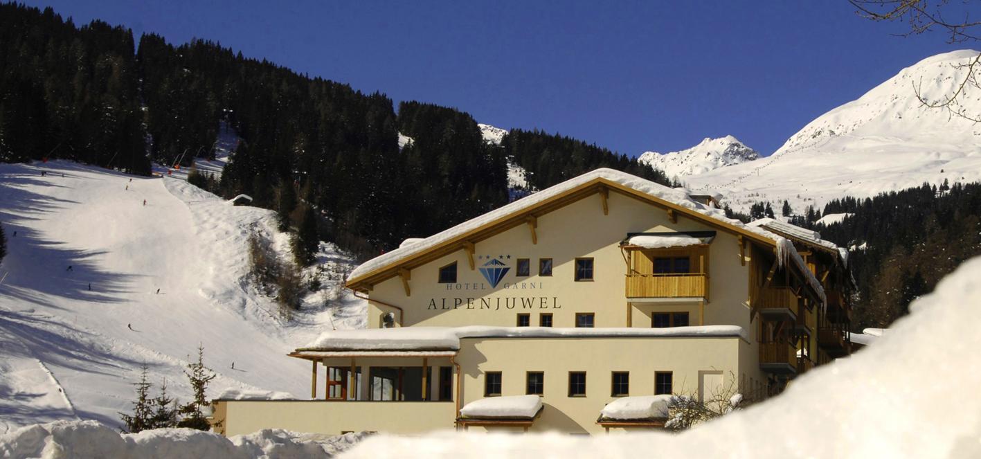 Busreis Serfaus - Hotel Garni Alpenjuwel