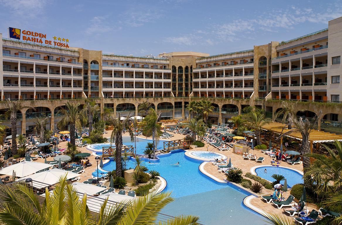 Hotel Golden Bahia de Tossa inclusief huurauto