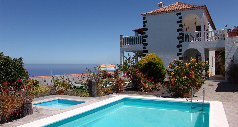 Fly-Drive Appartementen Finca Casita Jardin - inclusief huurauto in Tijarafe (La Palma, Spanje)