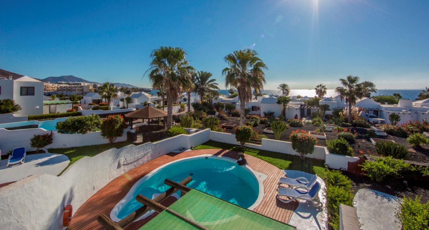 Villa's Kamezi - inclusief huurauto - Playa Blanca