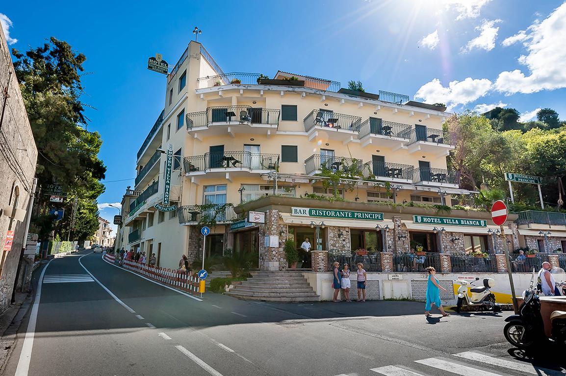 Vakantie Hotel Villa Bianca in Taormina (Sicilië, Italië)