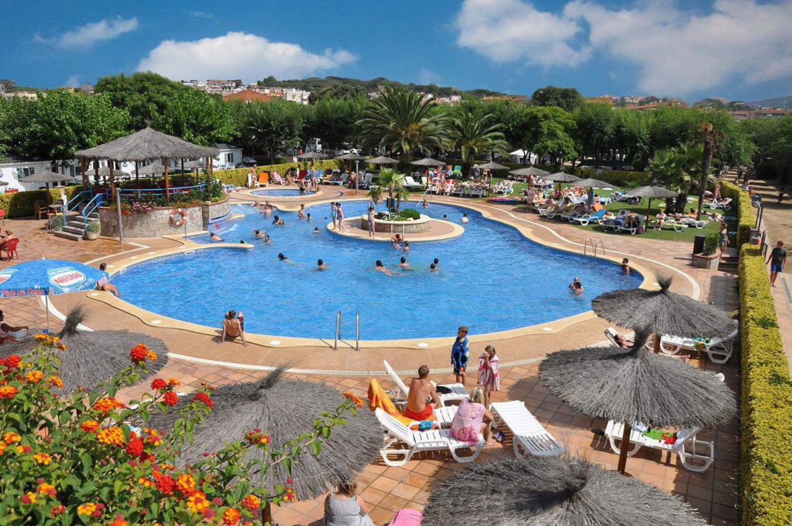 Vakantie Appartementen La Masia in BLANES (Costa Brava, Spanje)