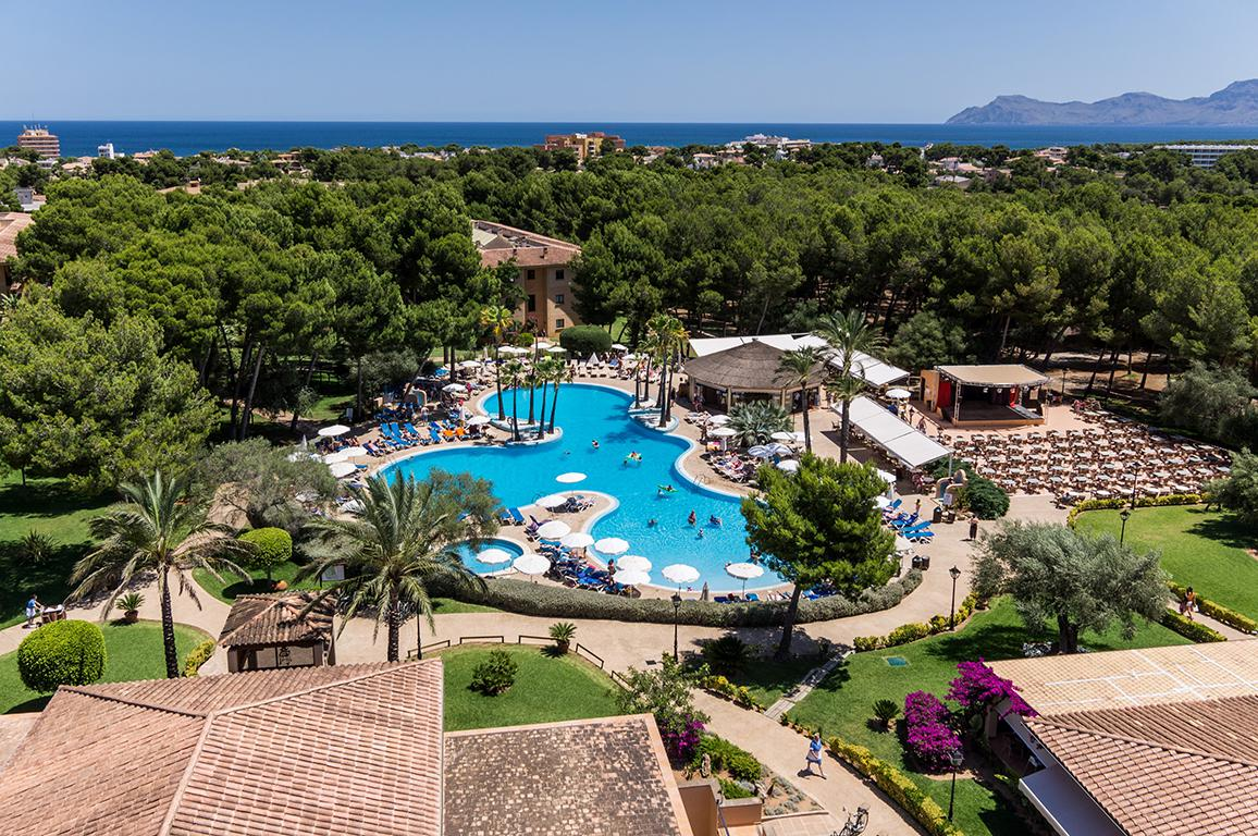 All inclusive vakantie Aparthotel FERGUS Club Vell Mari - all inclusive in Ca'n Picafort (Mallorca, Spanje)
