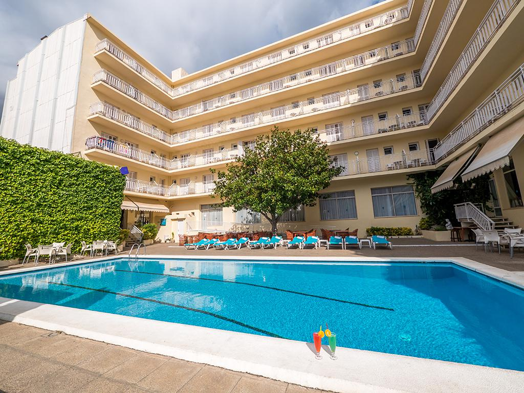Vakantie Hotel Checkin Pineda in Pineda de Mar (Costa Brava, Spanje)