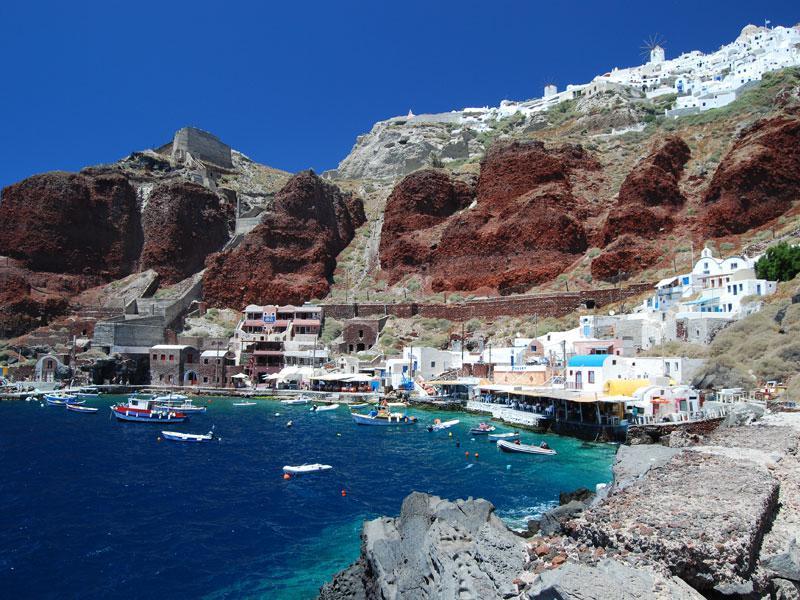 Image of 8 dgn Santorini-Naxos (2* hotels)