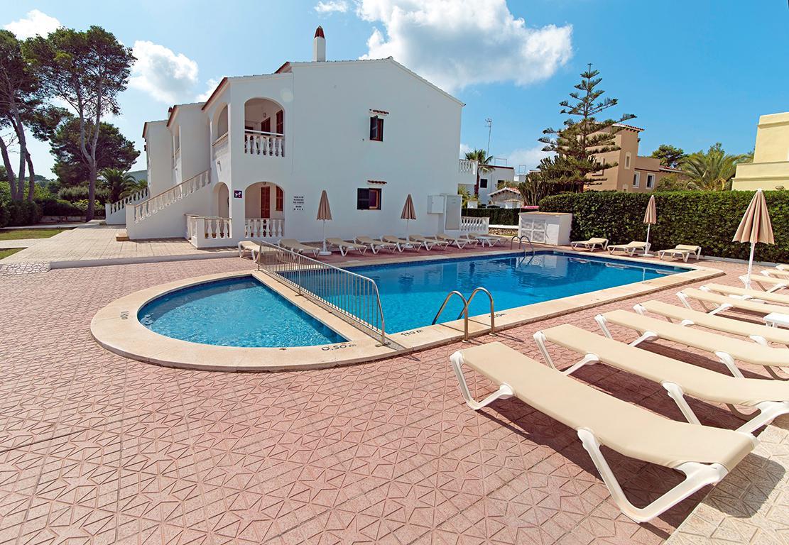 Vakantie Appartementen Mar Blanca in Cala Blanca (Menorca, Spanje)