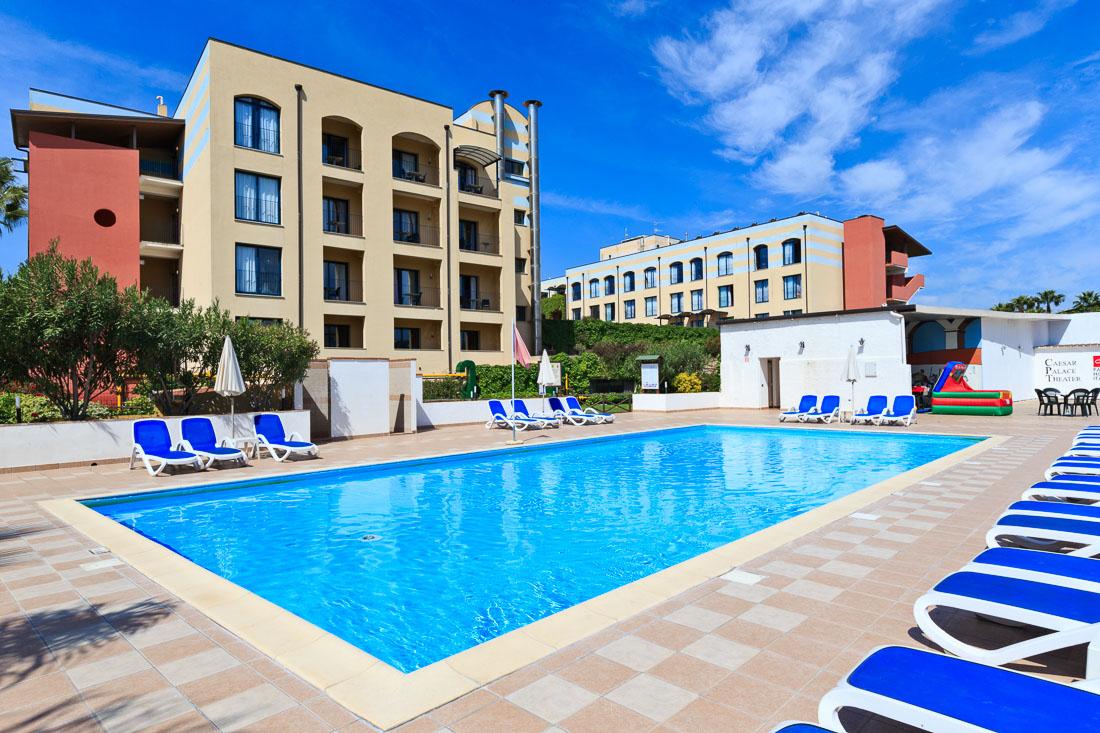 Vakantie Hotel Caesar Palace in Giardini - Naxos (Sicilië, Italië)