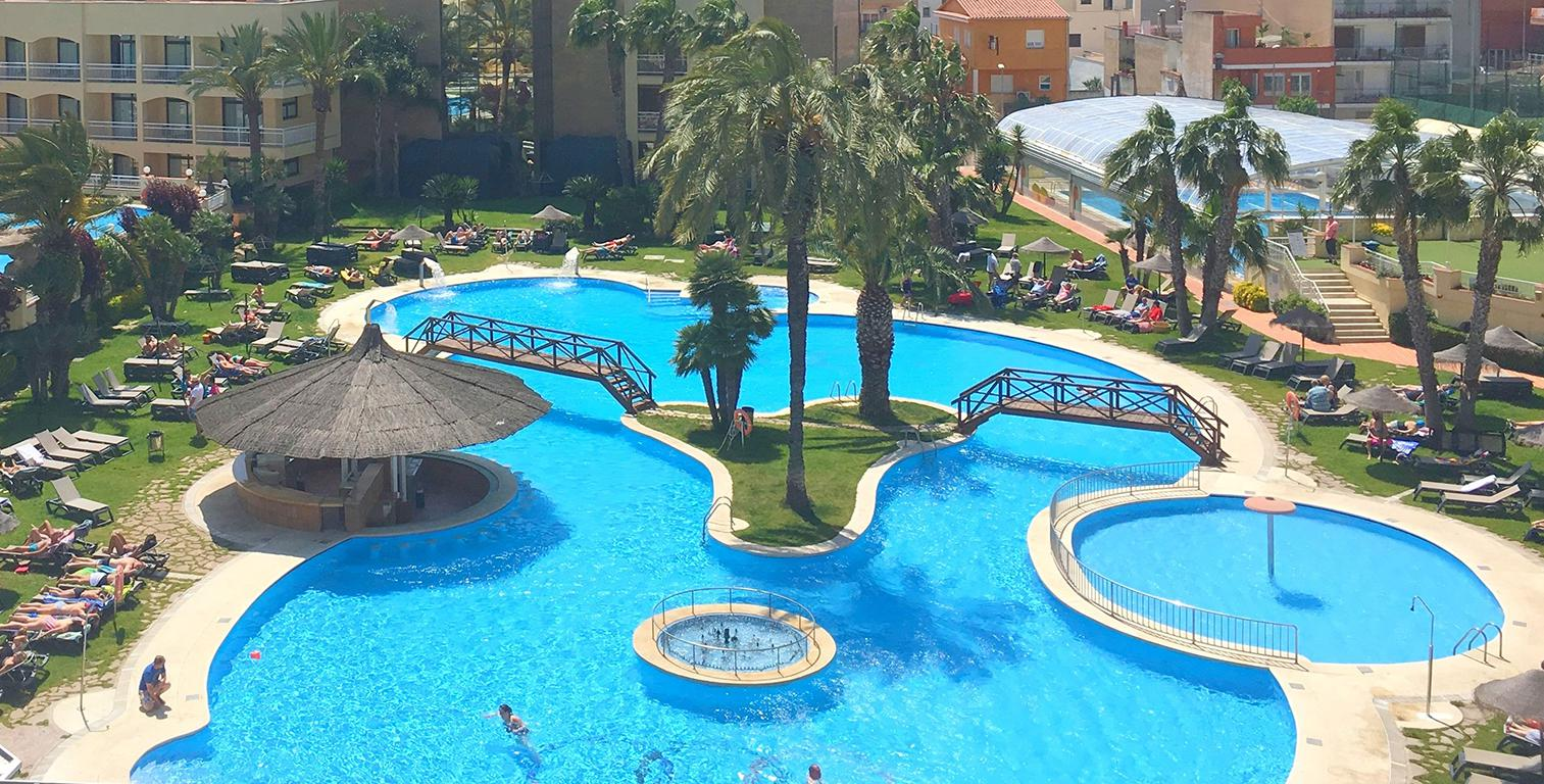 Vakantie Hotel Evenia Olympic Park/Garden in LLORET DE MAR (Costa Brava, Spanje)
