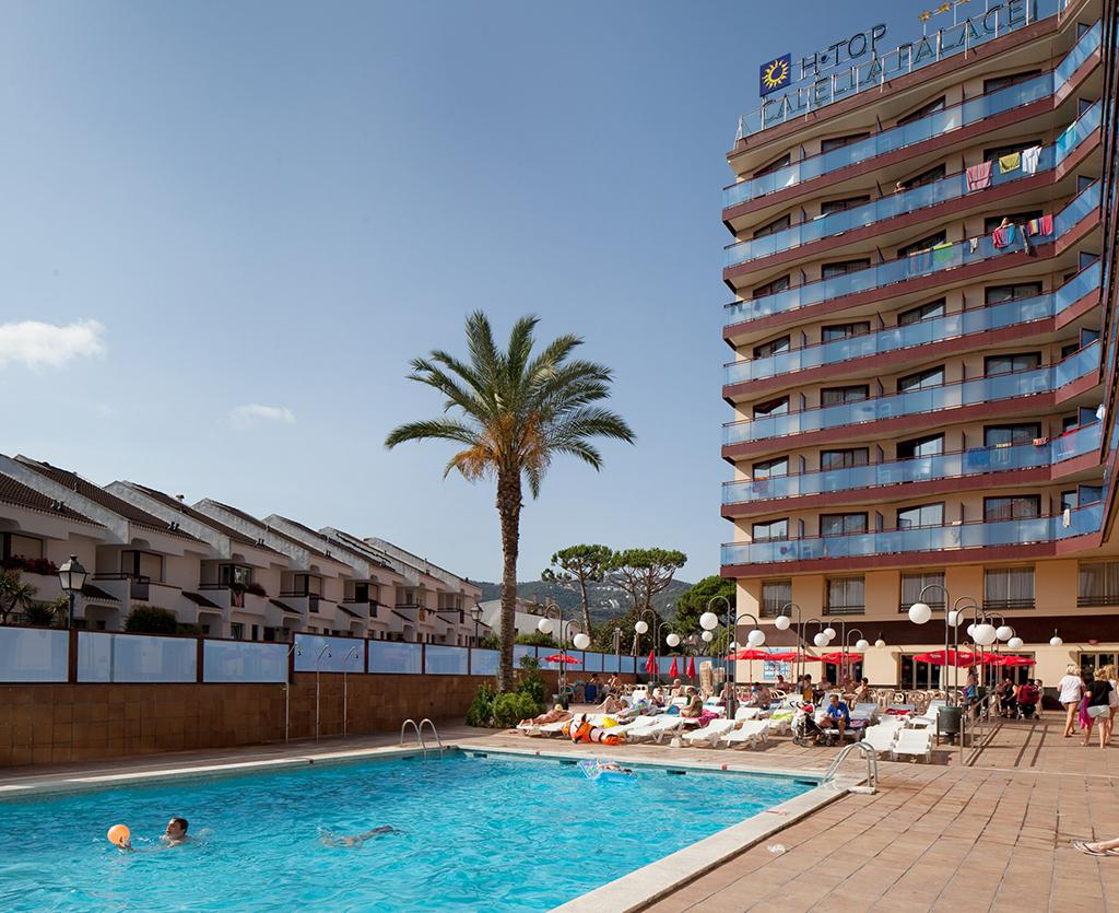 Vakantie Hotel H-TOP Calella Palace in Calella (Costa Brava, Spanje)