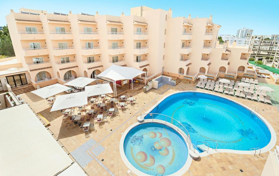 Vakantie Aparthotel Azuline Rosamar in San Antonio Bahia (Ibiza, Spanje)