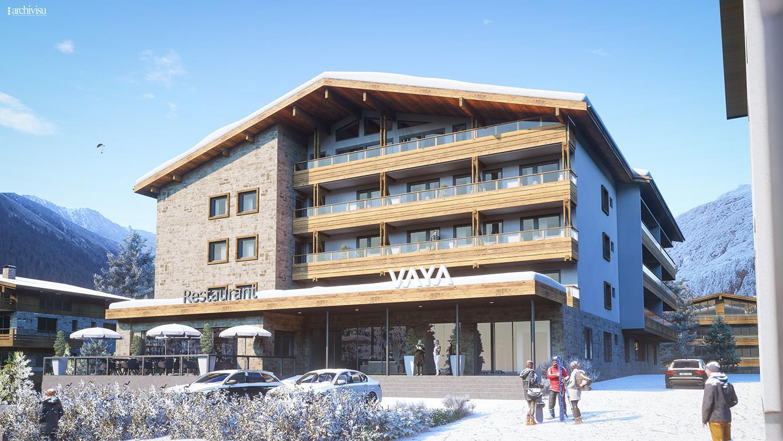 Vaya Galtür - Hotell