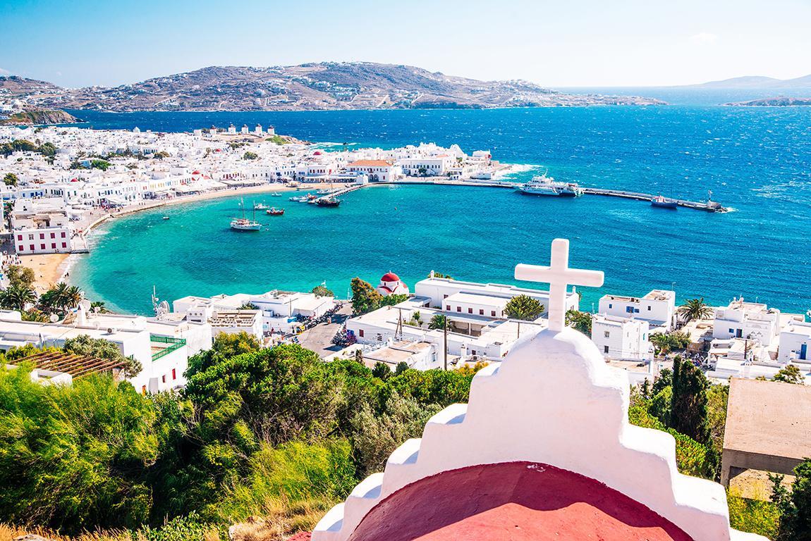 10 dgn Mykonos-Tinos-Syros (2* hotels)